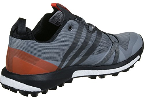 adidas Terrex Agravic, Chaussures de Randonnée Homme, Gris (Grigio Grivis/Negbas/Energi), 42 EU