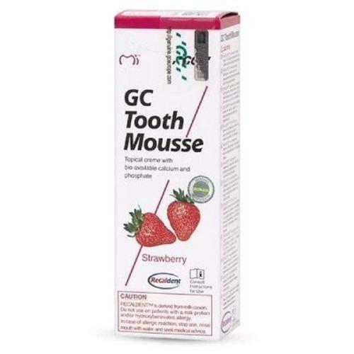 GC Mousse 40g Tube  1 Pcs  Strawberry Toothcreme Similar to GC MI