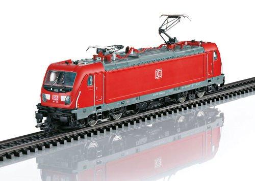 BOMBARDIER TRAXX AC 3 CLASS 187.1 ELECTRIC - 3-RAIL W/SOUND & DIGITAL -- GERMAN RAILROAD DB AG (ERA VI, TRAFFIC RED, (Marklin Electric Trains)