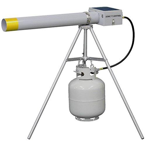 Sonic Sentinel M14-1 Propane Sound Cannon & Tripod + Remote Control