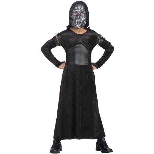 Death Eater Halloween Costumes - Death Eater Bellatrix Costume - Large
