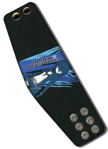 ブラックロックシューター ブラック ロック レザー リストバンド   B00DNVB45I