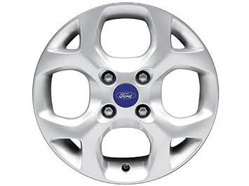 Ford Fiesta rueda de aleación de 1495693154-spoke y-Plata: Amazon.es: Coche y moto