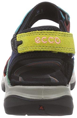 Ecco Offroad, Chaussures Multisport Outdoor Femme Multicolore - Mehrfarbig (Multicolor55749)