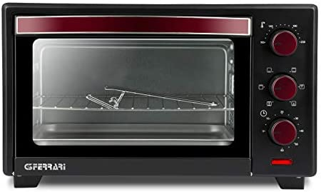 G3 Ferrari IL Moro 20 horno tostador 20 L Negro, Rojo Parrilla ...