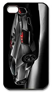APPLE iphone 4s case,hard case covers for Apple iphone 4 4s,PC black case for iphone 4 4S--Famous Cars 441