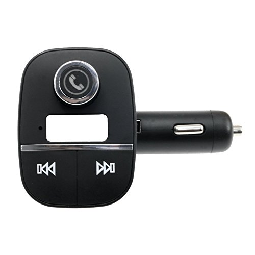 Mini Kit Mp3 Player (Topepop Car Charger Bluetooth Speaker Car Kit Wireless FM transmitter Mini Stereo MP3 Player Handsfree Built-in Microphone for Portable Headphones Home Car Speaker)