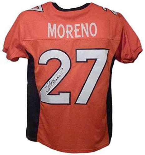 Knowshon Moreno Autographed Jersey - Orange Size Xl 12486 - Autographed NFL Jerseys