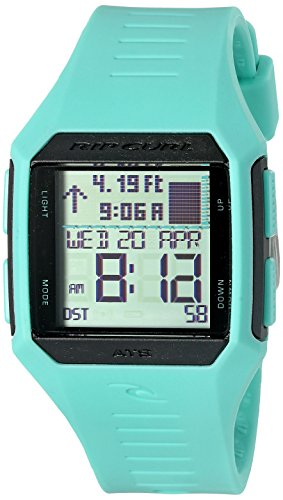 Rip Curl Women's 'Maui Mini Tide' Quartz Plastic and Polyurethane Sport Watch, Color:Green (Model: A1126G-MIN)