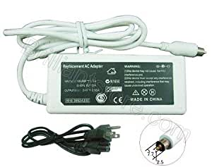 "AC Adapter Charger A1021 for Apple, iBook G4, PowerBook G4, 12"" 15"" 17"" 14"" (24.5V, 2.65A, 65W)"
