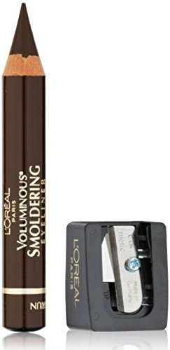 L Oreal Voluminous Smoldering Liner, Brown 655 0.087 oz Pack of 4