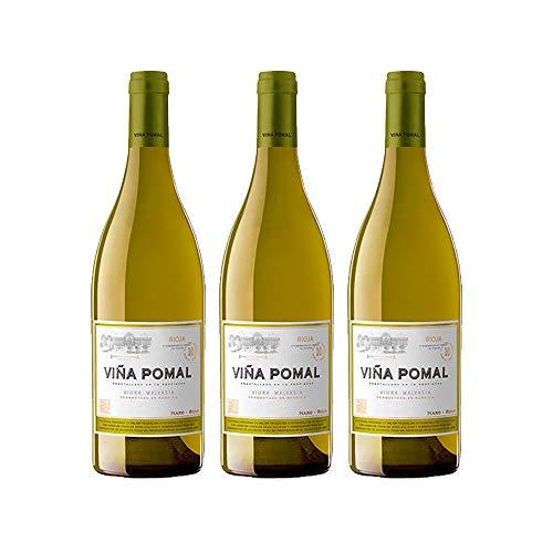 Viña Pomal | Vino Blanco 2015 Viña Pomal | MEDALLA DE ORO CINVE – 2017 | D.O.Ca. Rioja | Caja de 3 botellas de 75 cl