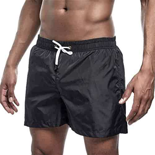Abeaicoc Men Quick Dry Waterproof Swim Beach Shorts Pants