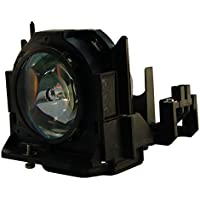AuraBeam Economy Replacement Projector Lamp for Panasonic ET-LAD60 With Housing