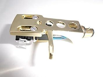 Dorado pastilla cabeza con fonocaptor mm para TECHNICS SL 20 ...
