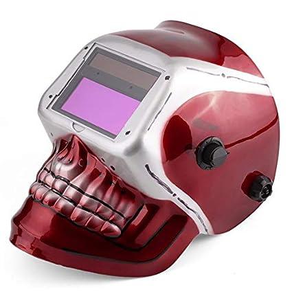CyberKit® Solar Pro Energy Auto Darkening Casco de Soldadura ARC TIG Mig máscara con diseño