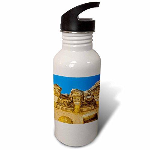 3Drose Danita Delimont   Fountains   Nymphaeum Public Fountain  Jerash  Jordan  Jerash   Flip Straw 21Oz Water Bottle  Wb 276907 2