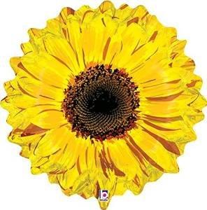 24 Inch Sunflower Foil Balloon -