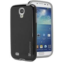 GreatShield Samsung Galaxy S4 Case - NEON Series PC + Silicone Protective Hybrid Cover Case for Samsung Galaxy S4 (Black / Gray)
