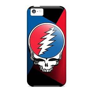 RichardBingley Iphone 5c Protector Hard Cell-phone Cases Custom Trendy Grateful Dead Pictures [jRY3401zcoE]