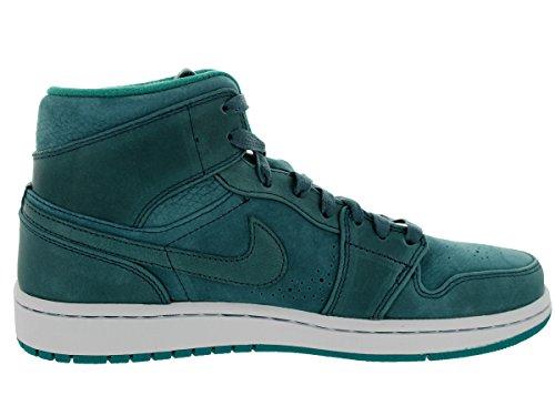 [629151-306] Air Jordan Aj 1 Mid Nouveau Mens Sneakers Air Jordannightshd / Nghtshd-lsh Tl-whtm