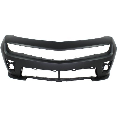 Front Bumper Cover Compatible with CHEVROLET CAMARO 2012-2015 Primed ZL1 Model Convertible/Coupe