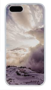 Case For Htc One M9 Cover landscapes nature snow 1 PC Custom Case For Htc One M9 Cover Cover White