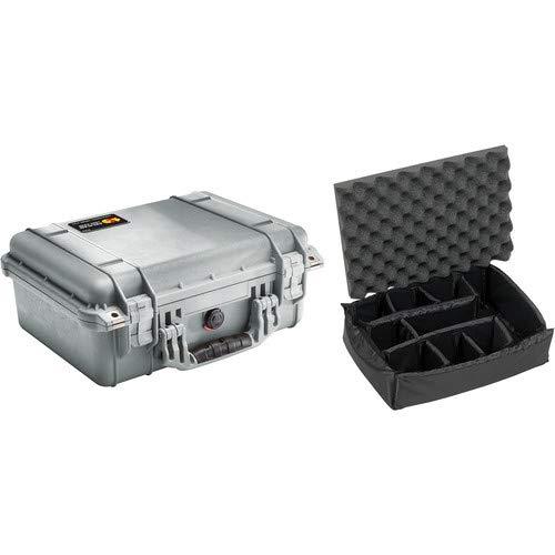 1450 Case with Dividers (Silver) [並行輸入品] B07MMJK3ZX
