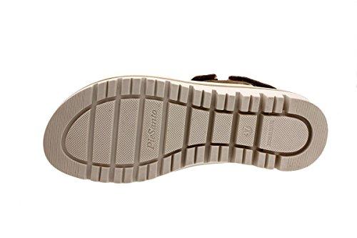 Amovible 180781 Piesanto Confort Chaussure Sandales Bronce Semelle Metal Ante À Femme IItqR