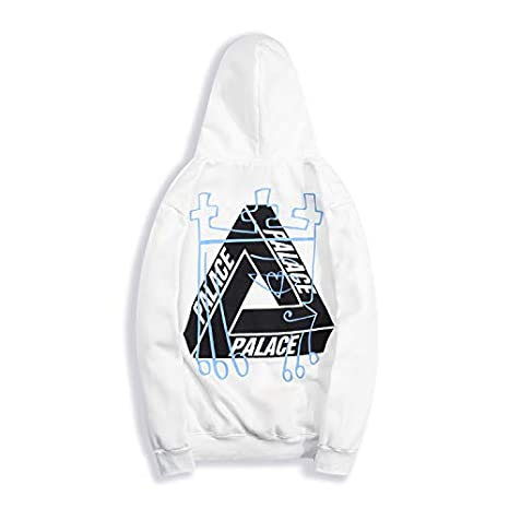 yur67 Triangle Graffiti Logo Palace Hooded Sweatshirtshirt for Men/Women: Amazon.es: Ropa y accesorios