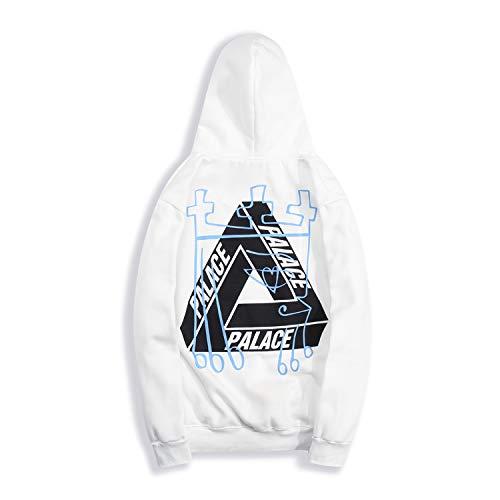 yur67 Triangle Graffiti Logo Palace Hooded Sweatshirtshirt for Men/Women: Amazon.es: Ropa y accesorios