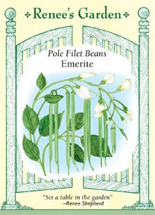Bean - Pole - Filet Emerite Seeds