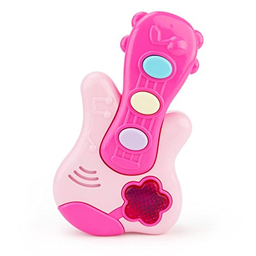 Geology Rocks Play Costumes (HANYI Baby Kid Musical Toys, Electric Cartoon Guitar Ukulele Musical Instruments with Sound and Lights Development Educational Christmas Toy Gift (Pink))