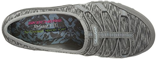 gry Blithe Baskets Grey Skechers Femme Easy Breathe Basses tawqwERx0