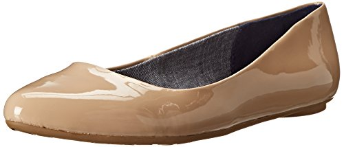 - Dr. Scholl's Women's Sand Patent Flat  Shoes - 8.5 B(M) US
