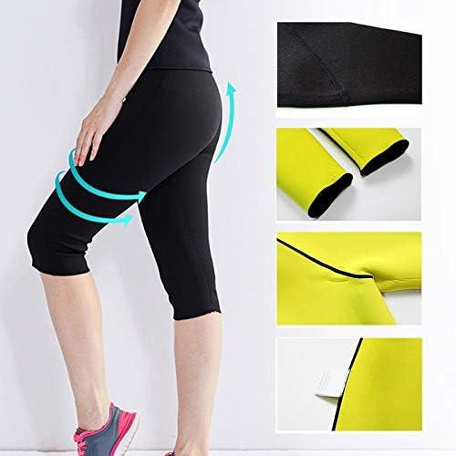 LQRR Mujeres Gym Yoga Pantalones Cortos para el Sudor Shapers para ...