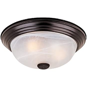 Kichler 8109NI Two Light Flush Mount - Flush Mount Ceiling Light ...