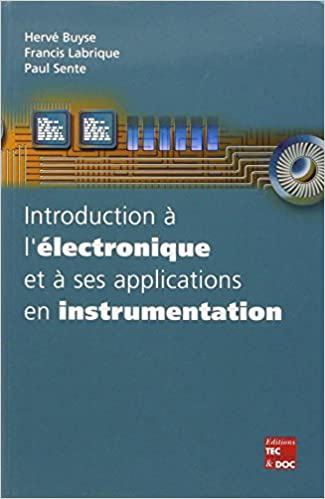 Livre Introduction à l'électronique et à ses applications en instrumentation epub pdf