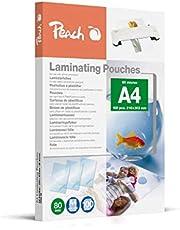 Peach PP580-02 Lamineringsficka, Paket med 100