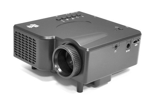 Pyle PRJG45 Multimedia Home Theater Mini Projector with HDMI, AV, VGA Inputs, SD/USB Readers from Portable & Gadgets