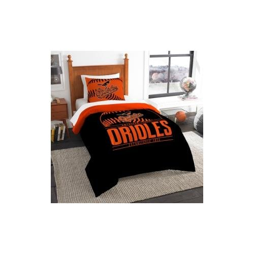 Mlb Comforter - The Northwest Co mpany MLB Baltimore Orioles Grandslam Twin 2-piece Comforter Set