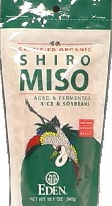 Eden Foods Certified Organic Shiro Miso 12 1 oz 345 g by Eden