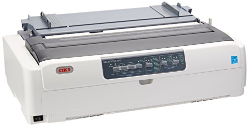 Microline 6 Dot Matrix Printer Size: Wide, Print Speed: 480 cps by OKI