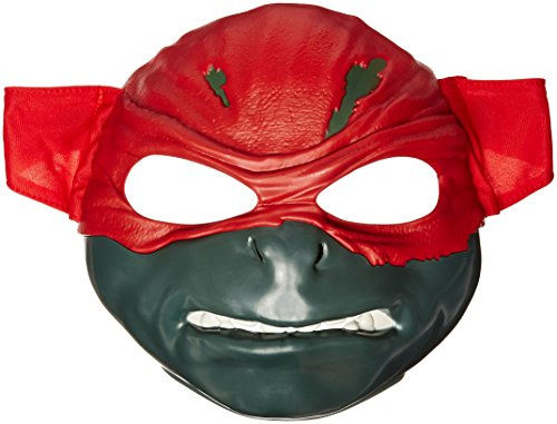 Teenage Mutant Ninja Turtles Raphael Movie Deluxe Mask Action Figure (Ninja Turtles Movie Mask)