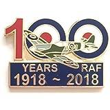 Emblems-Gifts 100 Years Of RAF Royal Air Force Enamel Lapel Pin Badge