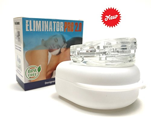 Eliminator Sleep Aid Custom Bruxism Night Mouth Guard Mouthpiece (Mouthpiece Snore)