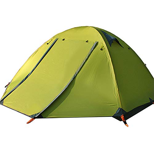 YANKK Ultralight Tents for 2 and 3 People, Dome Tent Set Up Immediately for Trekking, Outdoor, Festival, Windproof and…