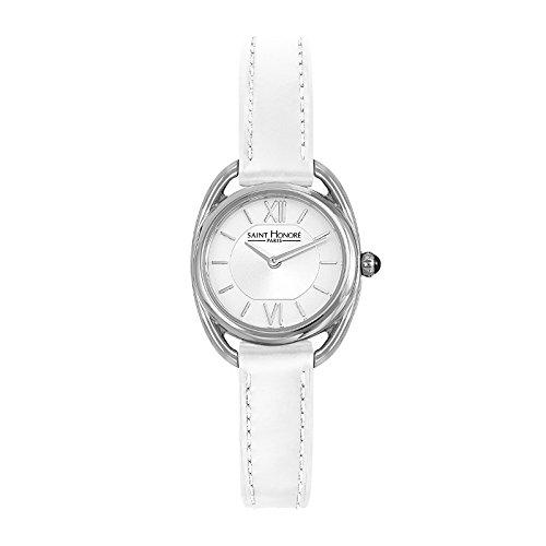 Saint Honoré Reloj Analogico para Mujer de Cuarzo con Correa en Cuero 7210261AIN-W: Amazon.es: Relojes