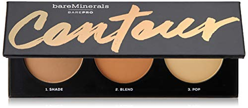 Bareminerals Barepro Contour Face Shaping Powder Trio - Fair To Medium, 0.51 ()
