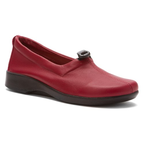 Arcopedico Womens QUEEN II Slip-on (7851) Burgundy Wash Size 39 EU (8.5-9 M US Women) (Queen Of Hearts Shoes)